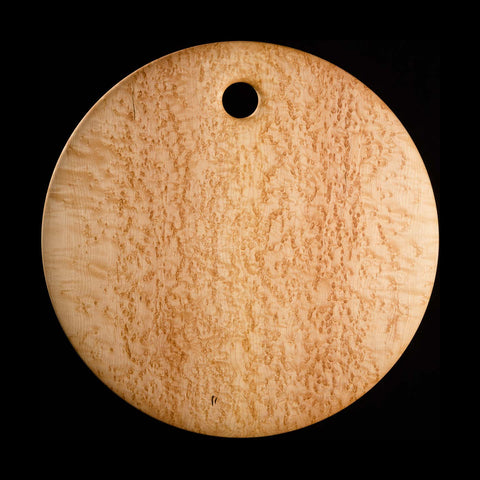 "Primo #8 - 20"" Round Bird's-Eye Maple Cutting Board"