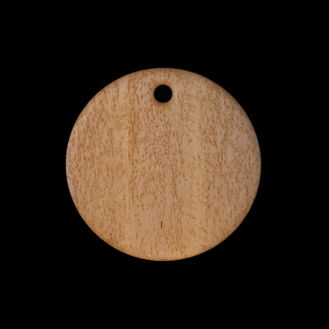 "Primo #7 - 16"" Round Bird's-Eye Maple Cutting Board"