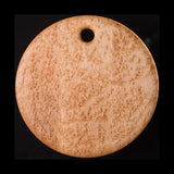 "Primo #14 - 14"" Round Bird's-Eye Maple Cutting Board"