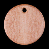 "Primo 13"" Round Bird's-Eye Maple Cutting Board"