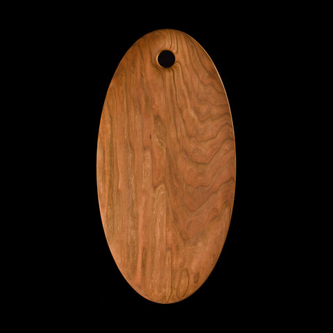 Large Oval Cherry Cutting Board
