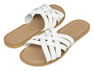 Salt-Water Retro Slide (Ladies) - White