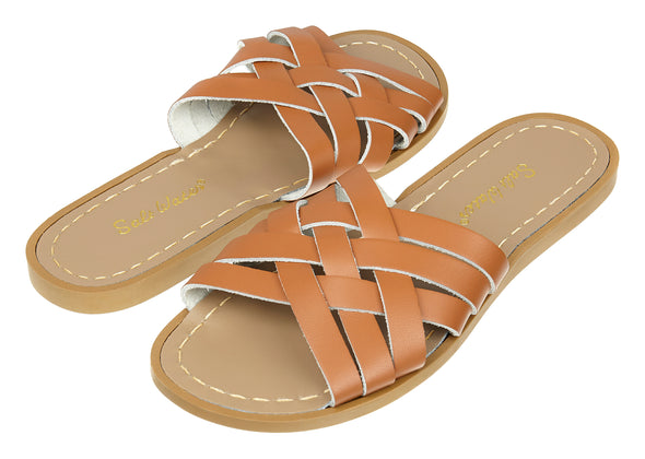 Salt-Water Retro Slide (Ladies) - Tan