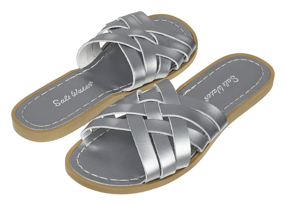 Salt-Water Retro Slide Premium (Ladies) - Pewter