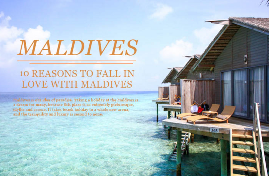 5 Reasons Why You Should Visit The Maldives