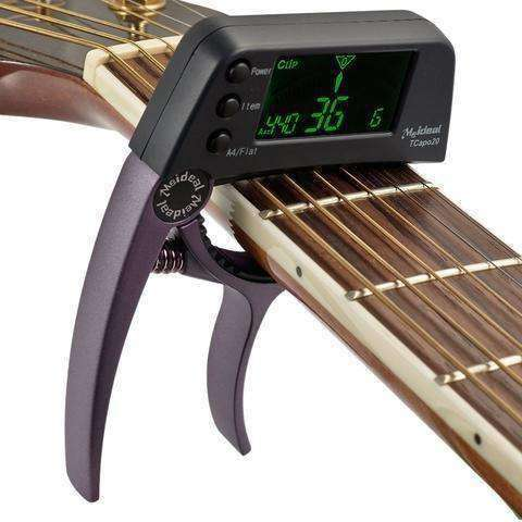 Guitar Capo with Built in Tuner