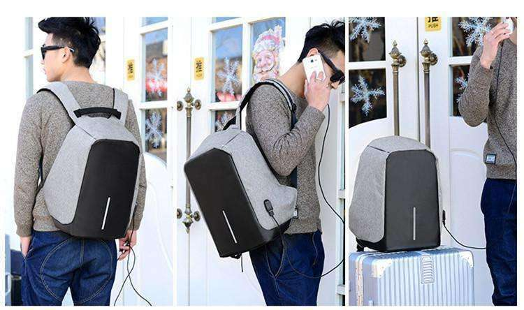 Travel Backpack - Anti Theft & Charging