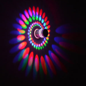 RGB Spiral Light Lamp