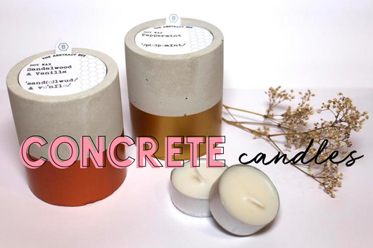 Concrete & Resin Candles