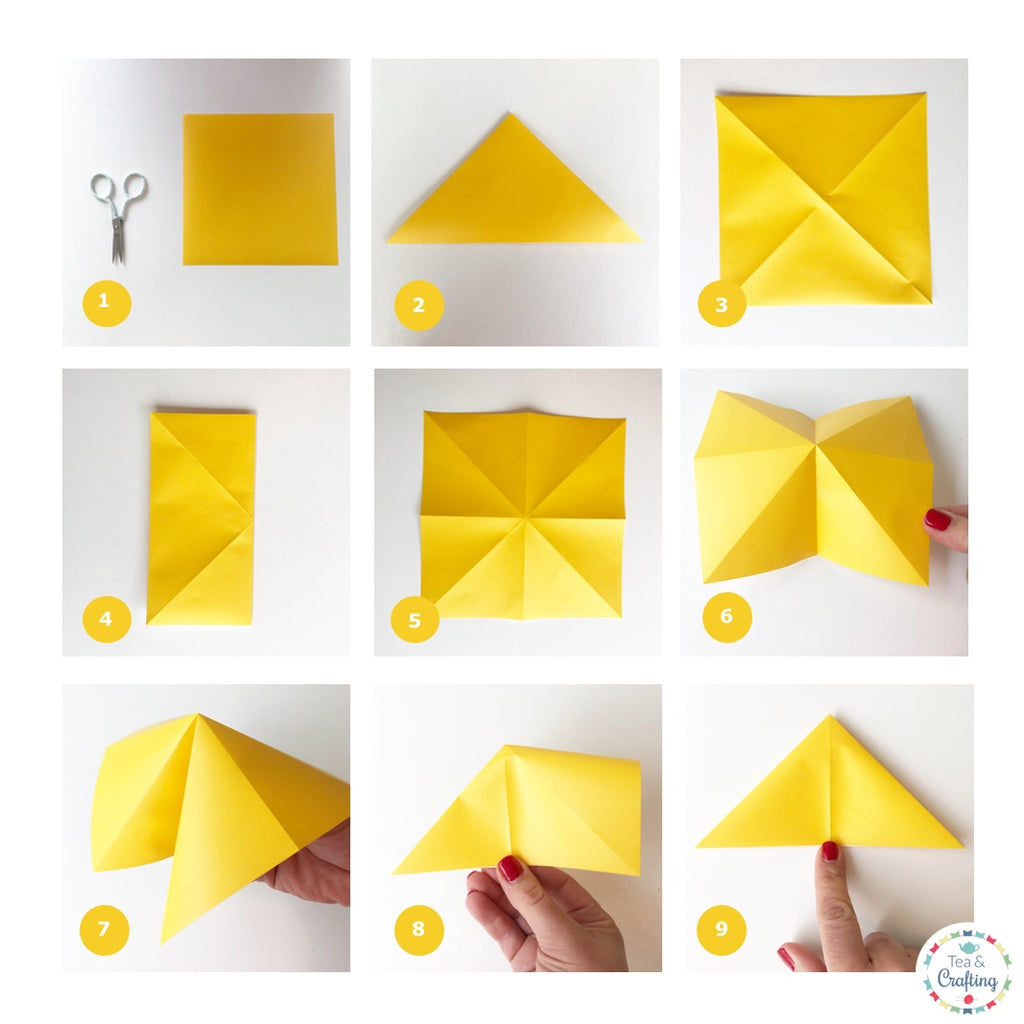 How to Make an Easy Origami Butterfly | 1024x1024