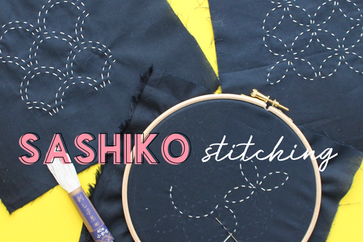 Japanese Sashiko Embroidery