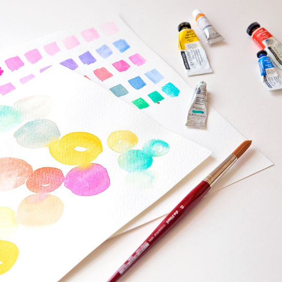 ONLINE Beginners Watercolour Painting