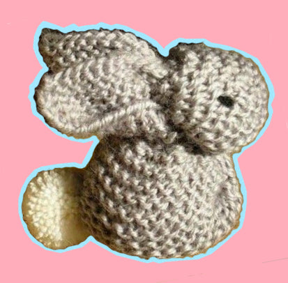 Free Online Knitting Classes - Knit an Easter Bunny