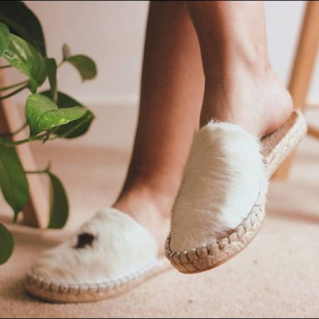 DIY Make Your Own Leather Espadrille Slippers or Sandals (1)