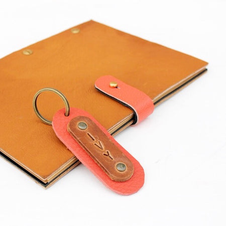 Leather Journal                               (with your Initials or keyring)