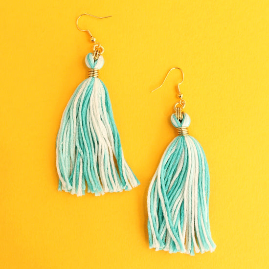 Tassel Earrings - Make your own Summer Jewellery