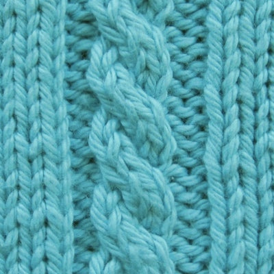 How to Read a Knitting Pattern & Learn Cable Stitch