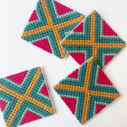 Bargello Workshops Online Needlepoint Craft Workshops with Tea and Crafting via Zoom