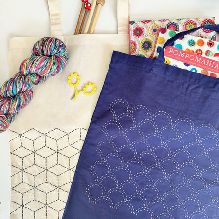 Learn Sashiko Embroidery Online Classes with Craft Kits