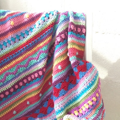 ONLINE Beyond Beginners Crochet - Sampler Blanket