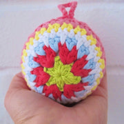 Christmas Baubles + How to Read Crochet Patterns