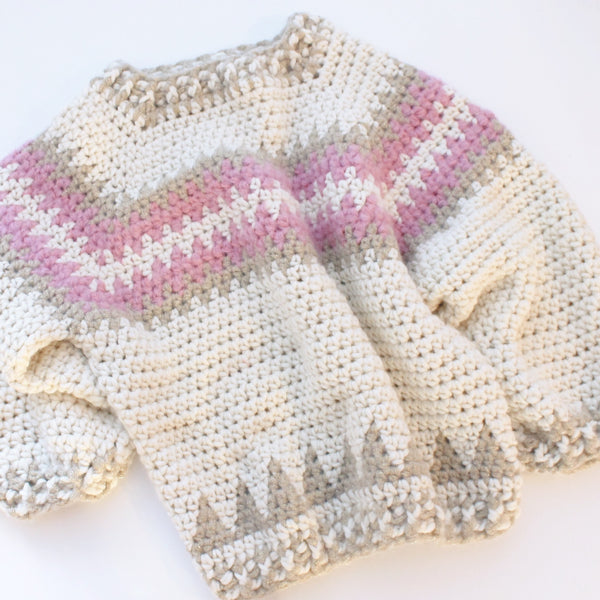 Beyond Beginners Crochet Learn To Crochet Yourself A Jumper Tea
