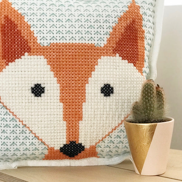 Cross Stitching for all Levels - Large Cross Stitch Cushion Cover