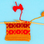 Learn how to Knit Fair Isle Strandedcolour work Knitting Online with Tea and Crafting