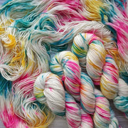 Learn to Dye Yarn at Home ONLINE workshops with Tea and Crafting