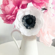 ONLINE Paper Flower Making - Make a Beautiful Anemone