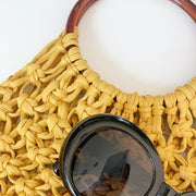 Learn Macrame Online with Tea and Crafting Online Crafty and interactive workshops - macrame market bag