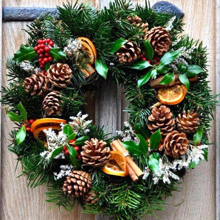 Christmas Wreath - Floristry Workshop