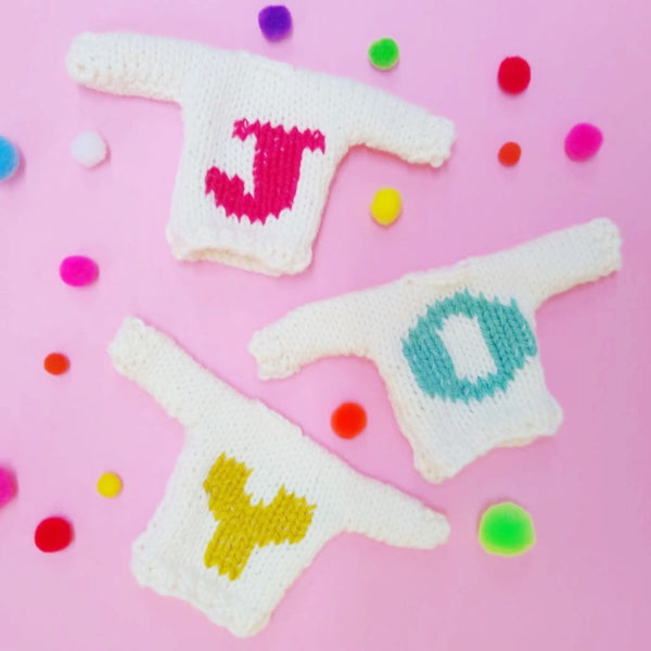 Knitted Mini Christmas Jumper decorations