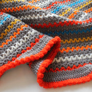Learn to Crochet - V Stitch Blanket for Beginners