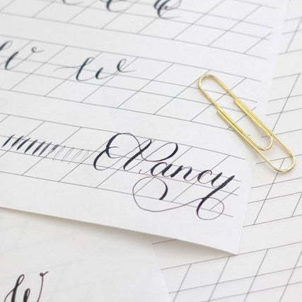 Beginners Modern Calligraphy - London Calligraphy Workshops - Book Now