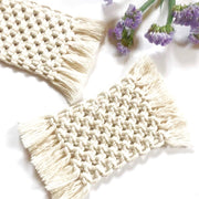 ONLINE Macrame Coasters for Beginners