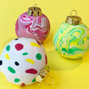 ONLINE Polymer Clay Christmas Bauble Workshop