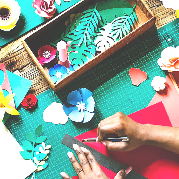 Mindful Crafting Workshops in London - Paper Cutting Workshop in Central London