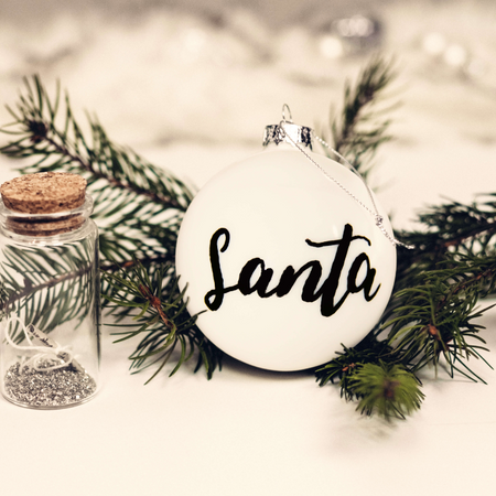 Make your own Personalised Set of Ceramic Baubles