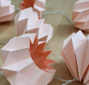 ONLINE Beautiful Origami Fairy Lights