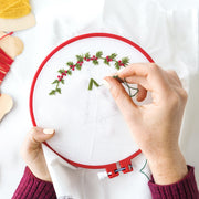 Beginners Embroidery Workshop in London - Tea and Crafting Top Embroidery Unique Christmas Gift