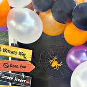 Virtual Halloween Balloon Garland workshop with Tea and Crafting