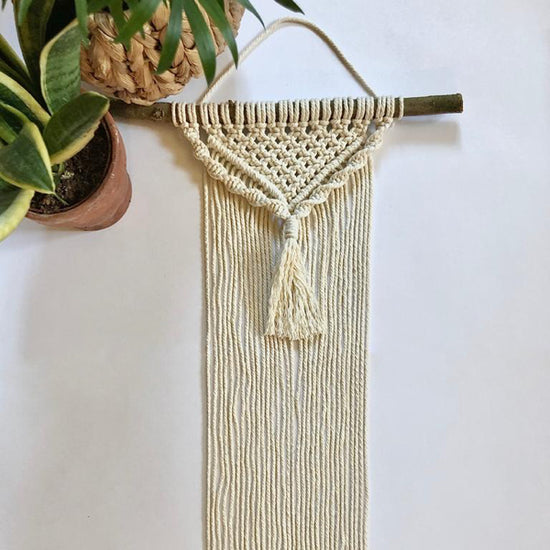Learn how to Macrame the Most Beautiful Wall Hanging Online - We Send a Full Craft Kit of Supplies