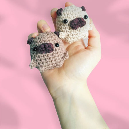 Learn to Crochet Amigurumi Online - we post out a kit and teach you live how to crochet via Zoom