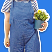 Learn to Sew your Own Dungarees Online with Tea and Crafting - Sewing Lessons Online