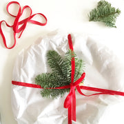 Make a Christmas Wreath using Beautiful Italian Specialist Crepe Paper