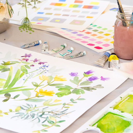 Beyond Beginners Watercolour Painting - Florals