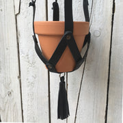Make Your Own Leather Plant Hanger