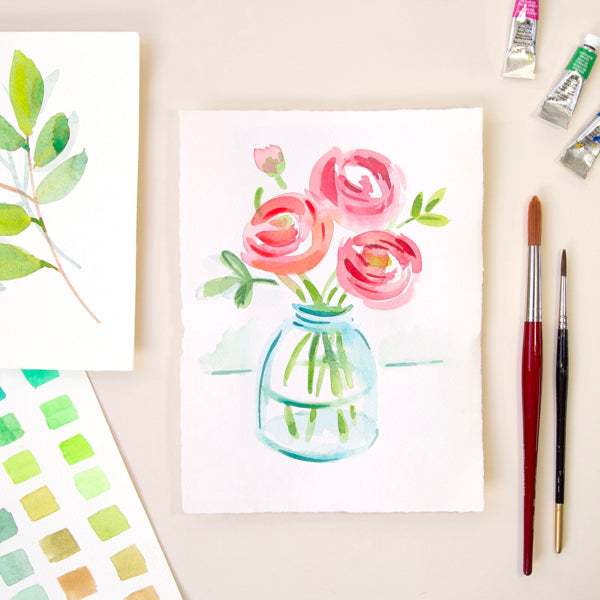 Beginners Watercolour Painting