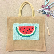 Rag Rug Tote Bags - Learn Rag Rugging for Beginners